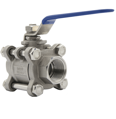3PC Threaded Ball Valve2