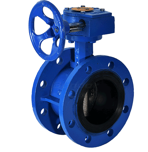 Gear Operated Butterfly Valve4
