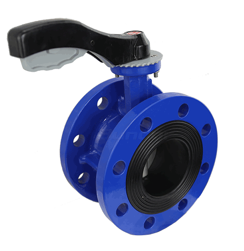Manual Flanged Butterfly Valve2