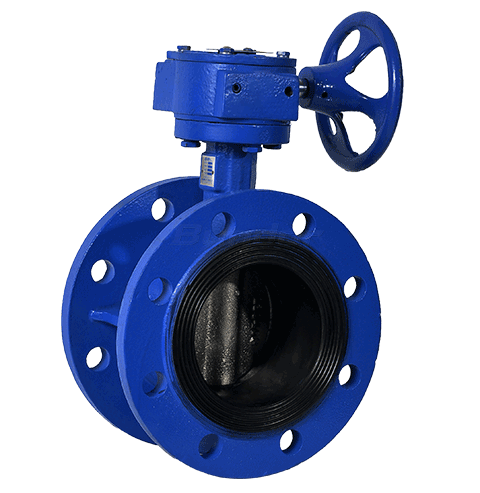 Gear Operated Butterfly Valve2