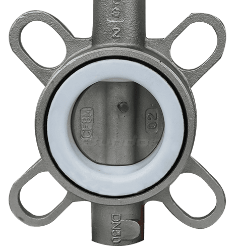 Stainless Steel Wafer Butterfly Valve2