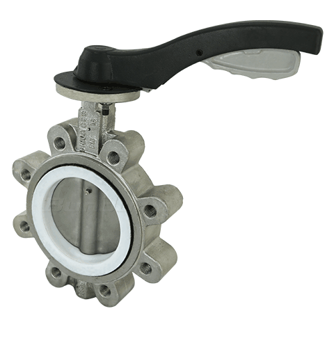 With-pin Type Lug Butterfly Valve3