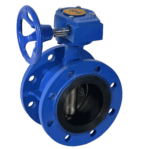 Gear Operated Butterfly Valve3