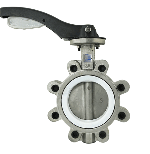 With-pin Type Lug Butterfly Valve2