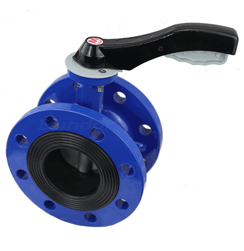 Manual Flanged Butterfly Valve4