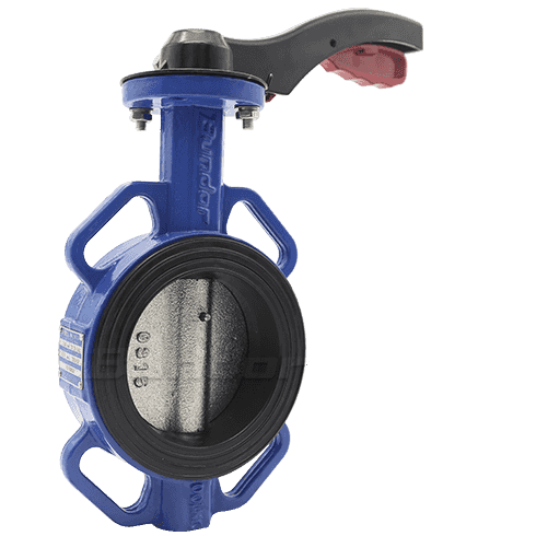 Aluminium Handle Wafer Butterfly Valve