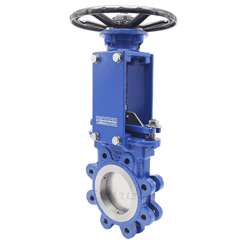 Flanged Knife Gate Valve2