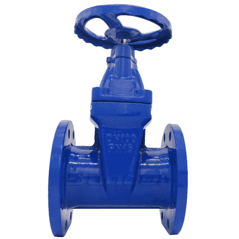 BS5163/GB Non-ring Stem Soft Seal Gate Valve3