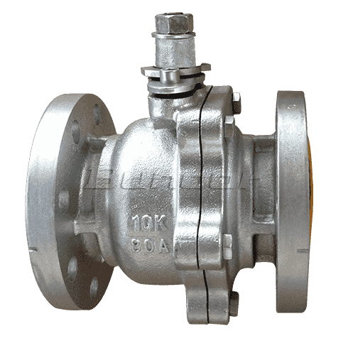 WCB Flanged Ball Valve