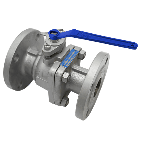 PN16 Flanged Ball Valve2