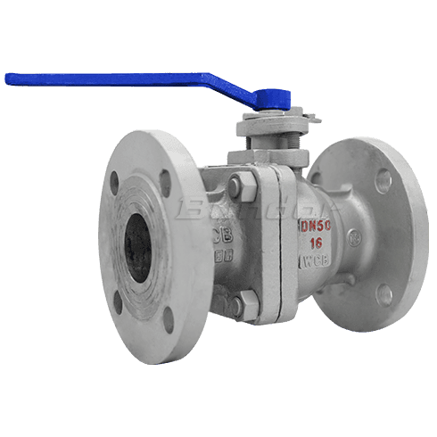 PN16 Flanged Ball Valve3