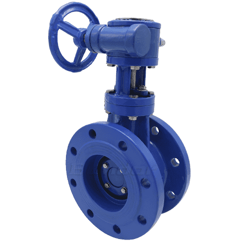 Metal Seat Butterfly Valve4