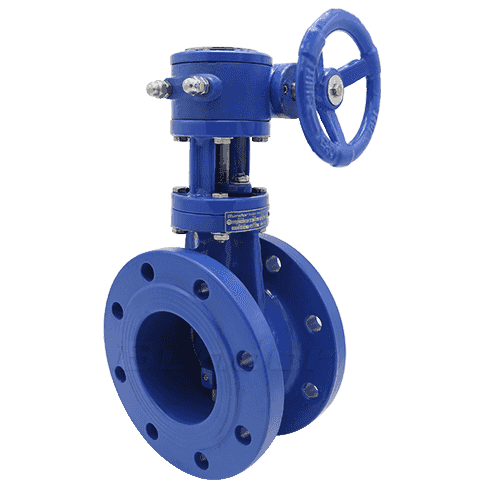 Metal Seat Butterfly Valve1