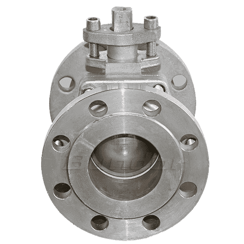WCB Flanged Ball Valve4