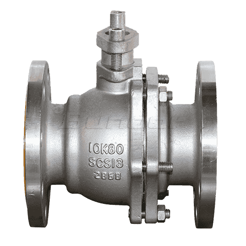 WCB Flanged Ball Valve2