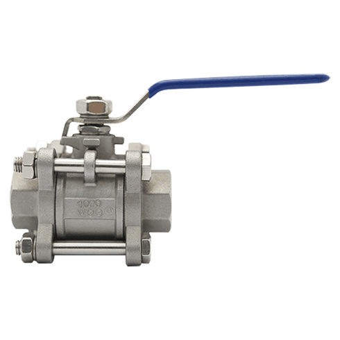 3PC Threaded Ball Valve1