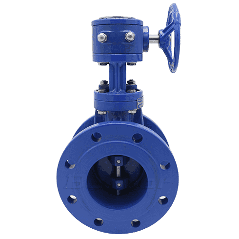 Metal Seat Butterfly Valve2