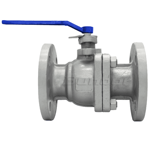 PN16 Flanged Ball Valve4