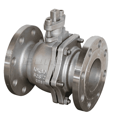 WCB Flanged Ball Valve3
