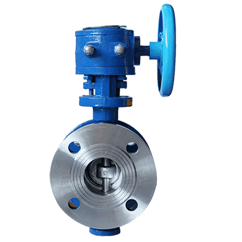 WCB/SS Triple Eccentric Butterfly Valve