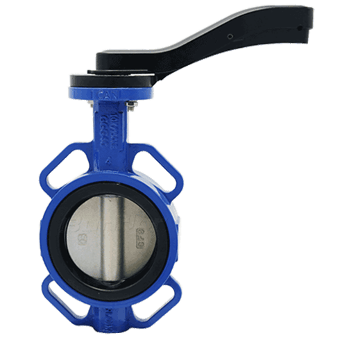 Pinless Disc Butterfly Valve