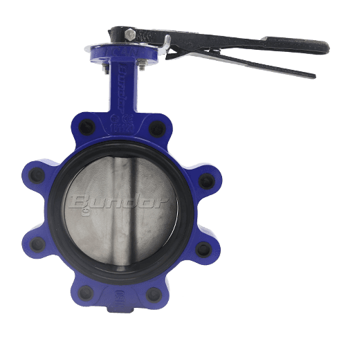 Replacebale Seat Pinless Lug Butterfly Valve