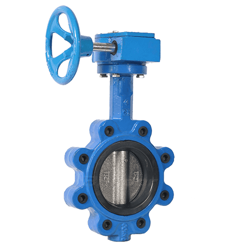 Gear Operated Lug Butterfly Valve4
