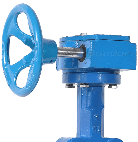 Gear Operated Lug Butterfly Valve3