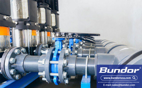 Where are butterfly valves used?