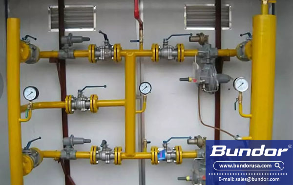 What is the use of the ball valve?