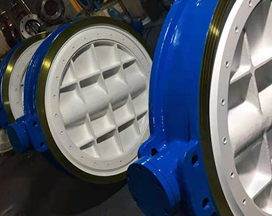 Bundor double eccentric butterfly valve  exported to Europe