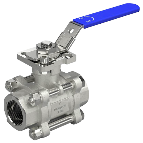 Ball Valve with High Platform