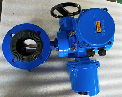 Southeast Asia valve traders purchase the electric butterfly valve of Bundor