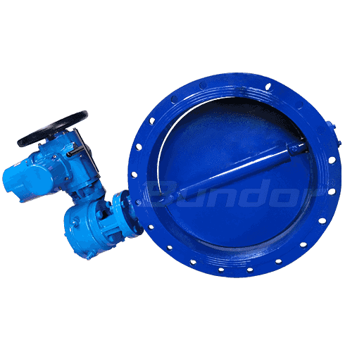 Flange Aeration Butterfly Valve