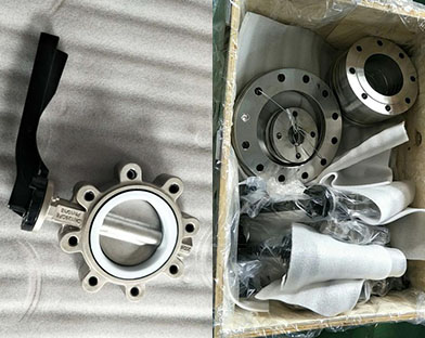 Stainless steel lug butterfly valves and other products of Bundor are exported to Africa