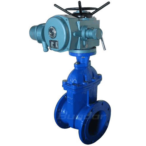 Electric soft seal gate valve