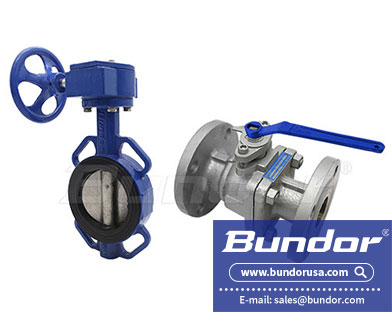 The difference between butterfly valve and ball valve