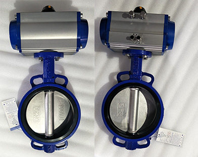 A factory in South Asia purchases the electric butterfly valve and pneumatic butterfly valve of Bundor