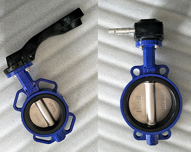 An Asian customer purchase the wafer butterfly valve of Bundor Valve